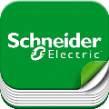 MTN296019 Schneider Electric Central plate for USB interface, System M, polar white